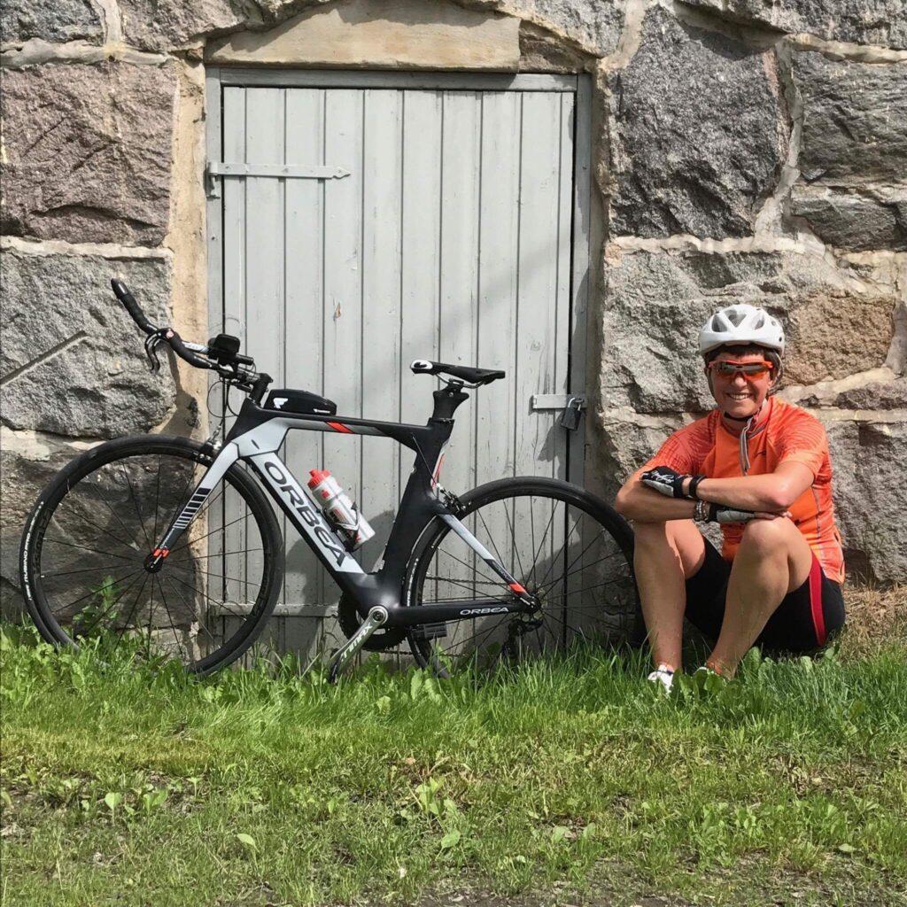 Cykelsemester i husbil