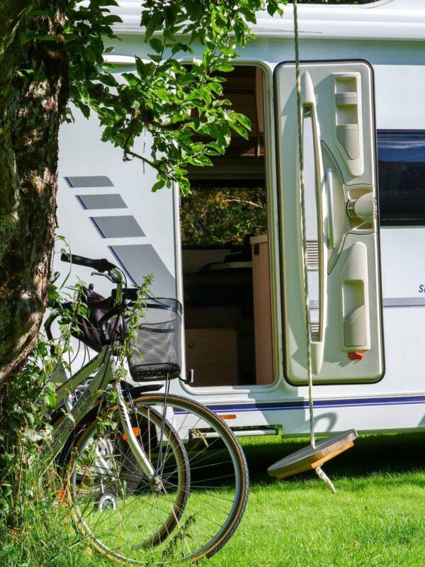 Cykelsemester i husbil Glasriket